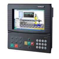 Best 32 Digital I/O Integrated PLC And HMI Touch Screen Monitor With PLC , VFD , Servo wholesale