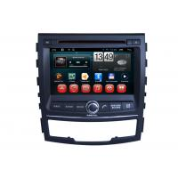 Quality Ssangyong Korando Car GPS Navigation System Android DVD Player 3G WIFI SWC BT for sale