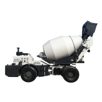Quality self loading concrete mixer truck H4000A (4 m³, articulated chassis) for sale
