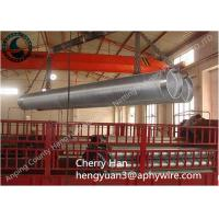 Quality Stainless Steel Wedge V Wire Screen , Metal Well Pipe Screens Liquid Filter for sale