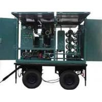 Quality closed mobile type transformer oil regeneration machine for sale