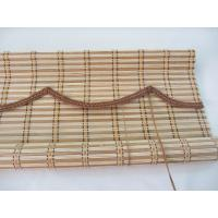 Quality Functional Natural Bamboo Roman Shades Mould Proof Compact Framework for sale