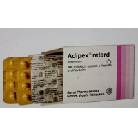 Quality Gold Version Adipex Retard Weight Loss Capsules 1*20 Package for sale