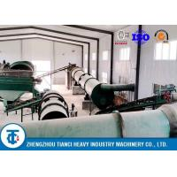 Quality Chicken Pig Manure Organic Fertilizer Granulator Production Line for sale