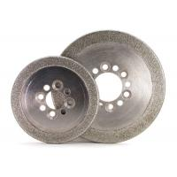 China Round Edge Electroplated Diamond CBN Grinding Wheels ISO9001 Certification on sale