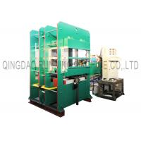 Quality 400T Pressure Rubber Vulcanizing Press Machine 2 Working Layers Relay Automatic Control for sale