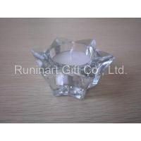Quality Glass Candle Holder (GLH0808040) for sale