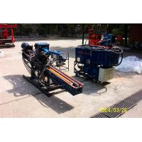 Quality Portable Auger Drilling Rig Borehole Stepless Shift / DTH Hammer Drilling MD - 60 for sale