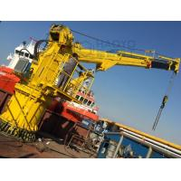Quality Top Lift Weight 1 ton to 10ton Telescopic boom crane or Knuckle Telescopic Marine crane for sale for sale
