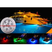 Best 3M IP68 RF / Bluetooth Boat Underwater LED Lights Waterproof Energy Saving wholesale