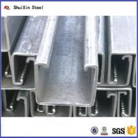Quality Factory Direct Export 1.5mm Thickness Galvanized Steel C Channel for sale