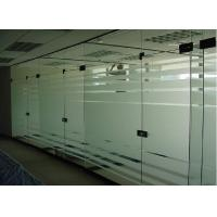 China tempered glass office door on sale