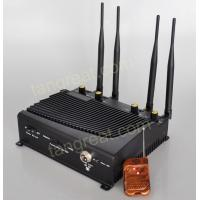 China tín hiệu gây nhiễu Indoor GSM 3G 4G Cell Phone Signal Jammer With Remote Control TG - 4CA on sale