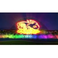 Quality Large Amusement Park Water Screen Projection Stainless Steel 304 316 Material for sale