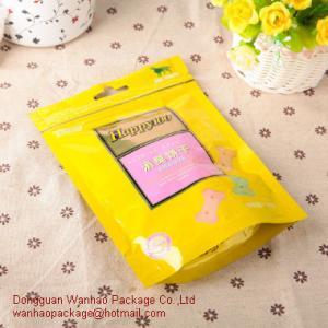 Buy cheap Flat Food Grade Zipper Plastic Bags / Resealable Zip Lock Plastic Bags from wholesalers