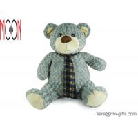China Plush Teddy Bear with necktie size 30cm Made in China on sale