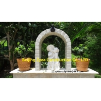 Quality Italian Garden white marble statues, nature stone park sculptures ,China stone carving Sculpture supplier for sale