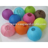 Quality round paper lanterns even ribbing lanterns round lanterns colour lanterns paper lanterns for sale