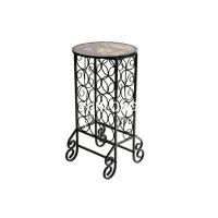 China Metal Commercial Metal Wine Racks , Hotel Wine Display Stands on sale