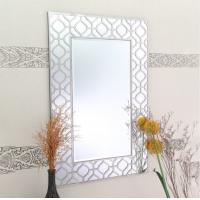 Quality Vertical Rectangle Glass Wall Mirror Fashionable Design Eco Friendly for sale