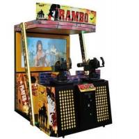 Quality Adult Simulator Shooting Arcade Games Machines , New Rambo Stand Up Arcade Machine for sale
