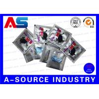 China Oral Jelly Pharmaceutical Aluminum Foil Bags Custom Logo Printing / 4 Sides Sealing on sale