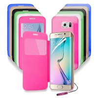 Best Transparent Clear Back Cell Phone Protective Cases For Samsung Galaxy S6 Edge G9250 wholesale