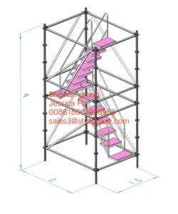 Quality 10m portable mobile tower Aluminum Mini Scaffold horizontal pipe for sale