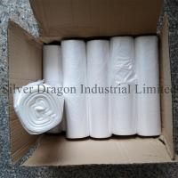 Quality Natural color high density polyethylene can liners on rolls, 6 to 30 microns are available for sale