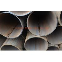 Quality Galvanized ERW Steel Pipe / Tube For Oil, Gas , Large Diameter Welding Round Pipe for sale