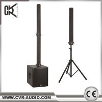 Quality speaker bluetooth wireless church column system powered amplifier sound system for sale