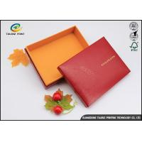 China Handmade Custom Cardboard Boxes With Lids Golden Covering For Chocolate on sale