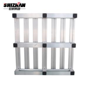 Quality 6000kgs Durable Heavy Duty Steel Aluminium Industrial Extrusion Pallet for sale