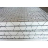 High Tensile Strength 3D Welded Galvanized Wire Mesh Panels For Construction