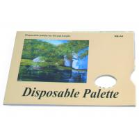 Quality Acrylic / Oil Painting Pad Disposable Palette Type , Artist Drawing Pad 48 sheets 58gsm for sale