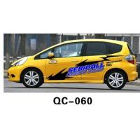 Best UV offset printing Water Proof Car Body Sticker QC-060C wholesale