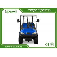 Quality Blue Color Mini Electric Golf Buggy 48V With Trojan Battery/Curtis Controller for sale