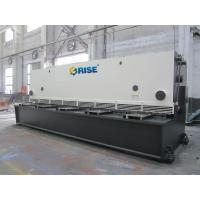 China 8mm CNC Hydraulic Guillotine Metal Shearing And Cutting Machines With Welding Frame on sale