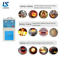 Quality Welding 45A 30kw Saw Tips Induction Brazing Equipment for sale