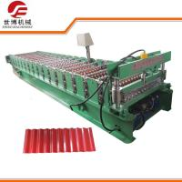 China PPGI PPGL GI Steel Sheet Corrugated Steel Panel Roll Forming Machines 762 on sale