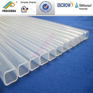 Quality ChinaFEP rectangle tube, FEP squre tube ,FEP flared tube, FEP capped pipe for sale