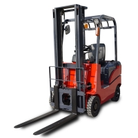 CE 2000kg Adjustable Four Wheel Manual Battery Operated Forklift for sale
