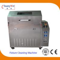 Quality Wave Solder SMT Cleaning Equipment Pallet Washer Machine with 3 Levels Filter System for sale