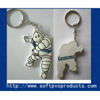 Quality Cute Michelin Soft PVC / Rubber / Silicone Custom Key Chains for Advertising / Promotional for sale