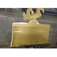 Quality Special ears Tilt Bucket for Cat pillar 312 excavator with Mechanical Quick Coupler for sale