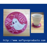 Quality Fish Design Custom Printed Drink Coasters with Logo , Personalised Coasters for Drinks for sale
