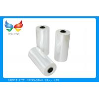 Quality 78% Shrinkage 40MIC Clear PET Plastic Shrink Film For Shrink Sleeve Labels Material for sale