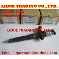 Quality DENSO Genuine & New common rail injector 295050-0180 295050-0181 295050-0520 for TOYOTA Hilux 23670-0L090 23670-09350 for sale