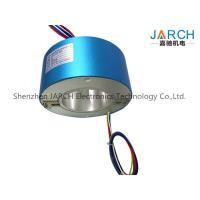 Quality Industrial 200mm Through Bore Slip Ring IP54 For Semiconductor Handling Systems for sale