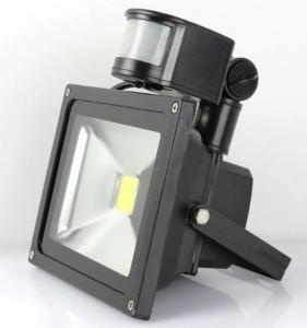 China 10W 20W 30W 50W LED Flood Light With Pir Sensor Epistar Chip 3 Years Warranty on sale
